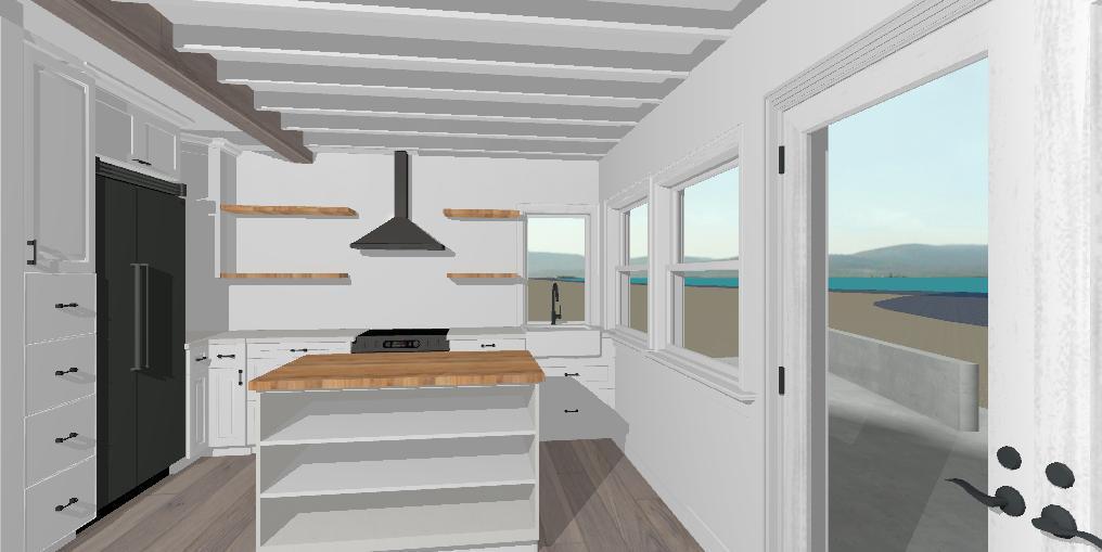 Langley Beach Cottage Kitchen@jessicawellinginteriors.com