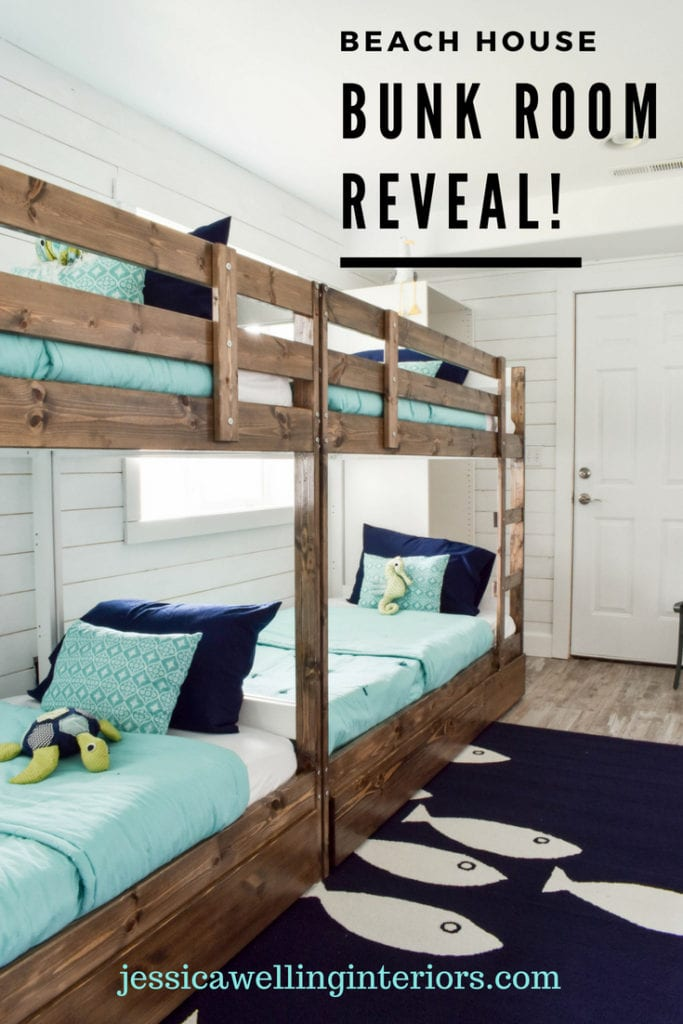 photo of bunk beds in a bunk room