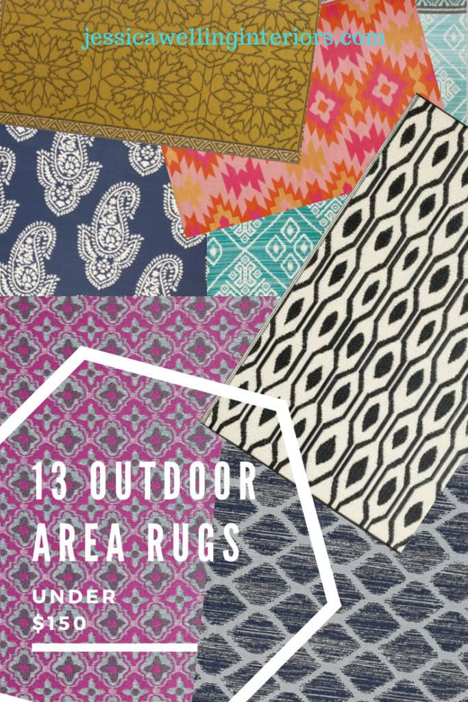 13 Outdoor Area Rugs @jessicawellinginteriors.com