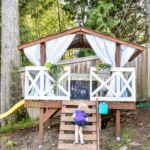 image of playhouse makeover