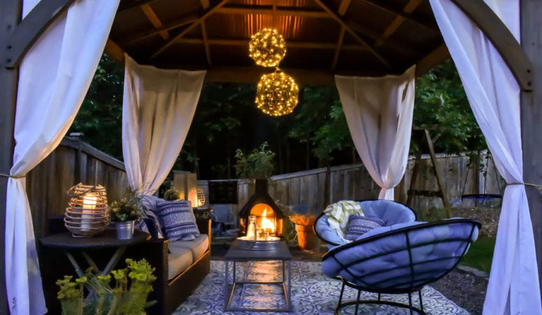Outdoor Living Room Reveal!