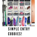 photo of entryway cubbies