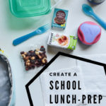 photo of school lunch prep station