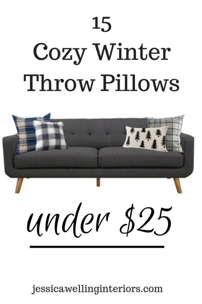 15 Cozy Winter Throw Pillows Under 25 Jessica Welling Interiors
