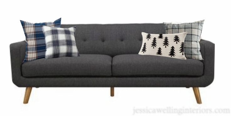 15 Cozy Winter Throw Pillows Under $25