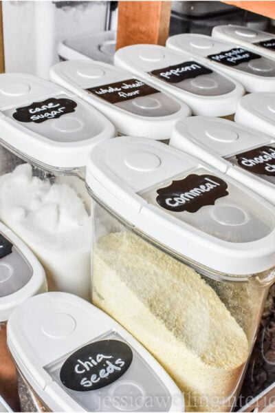image of organized baking supplies