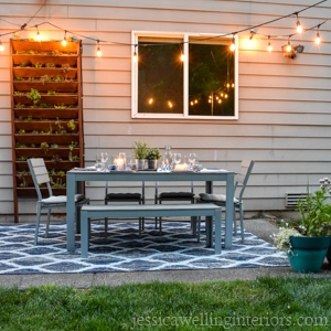 One Weekend Patio Makeover Jessica Welling Interiors