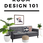 Learn the steps designers use to decorate a beautiful living room with these great tips! You can decorate your living room or family room on your budget, in your own unique style. Modern, traditional, farmhouse, mid-century, and more. We'll cover furniture selection, space planning, rugs, lamps, and much more!