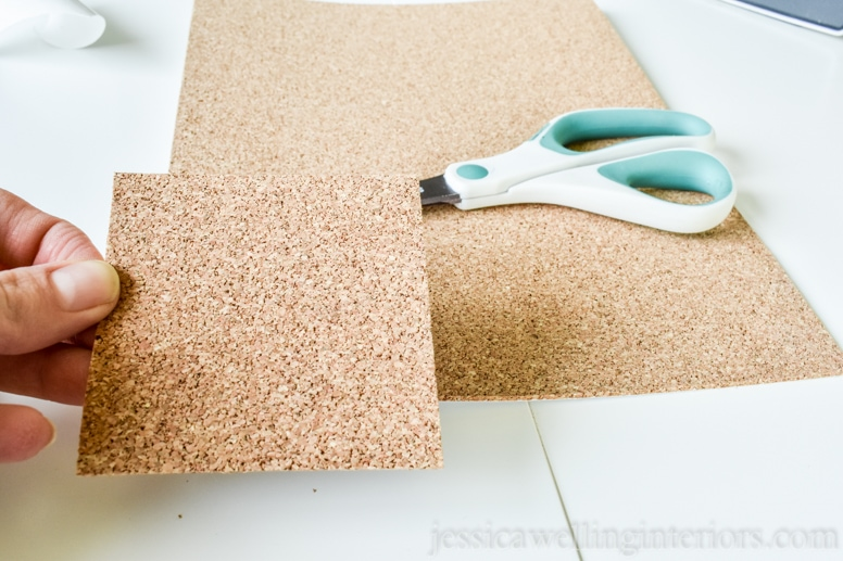 image of self-adhesive cork sheet