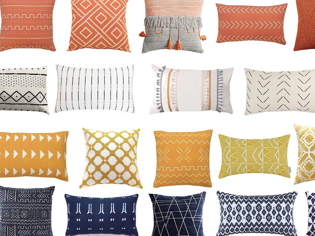 Cheap Modern Throw Pillow Covers for Fall!