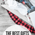 The Best Gifts for DIYers: drill Christmas gift being unwrapped