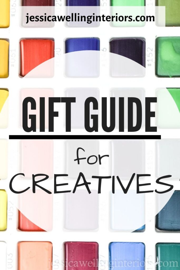 Gift Guide for Creatives: close-up of watercolor paint palette gifts for women