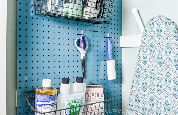 12 Clever Space-Saving Laundry Room Hacks