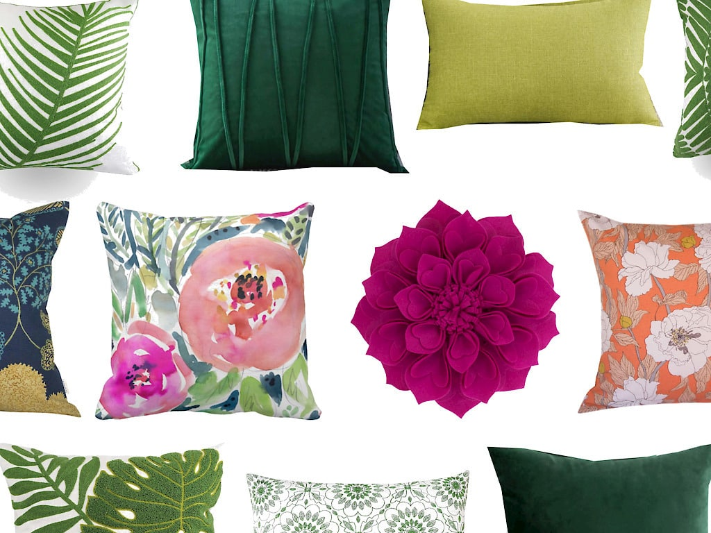 Cheap Throw Pillow Covers for Spring & Summer!