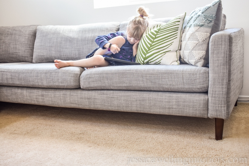 Update An Old Sofa With New Legs, How To Change Legs On Sofa
