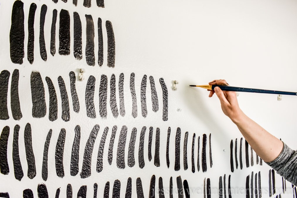 Create an Ultra-Easy Accent Wall with Paint!