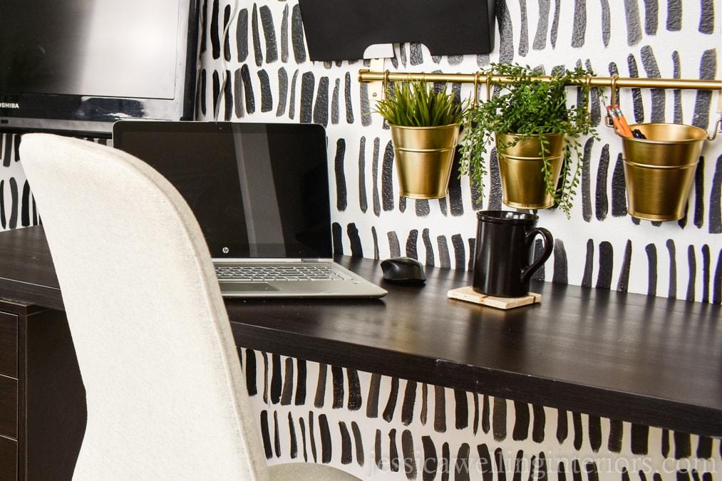 Modern Closet Office Reveal!