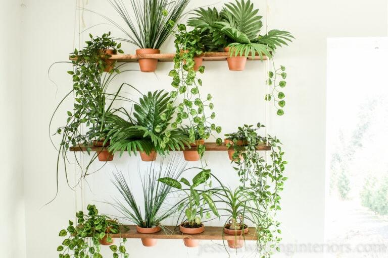 DIY Indoor Vertical Garden