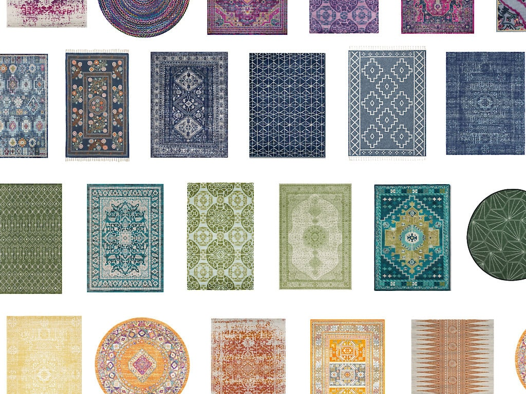 Boho Rugs Under $200 In Every Color!