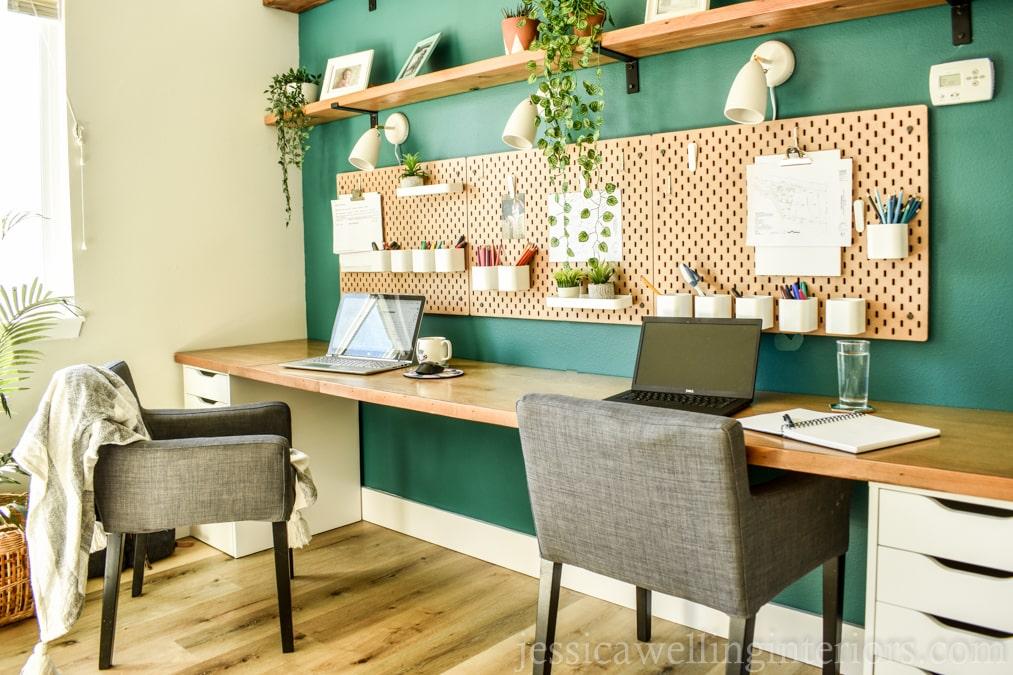 Simple DIY Ikea Desk Hack Tutorial!