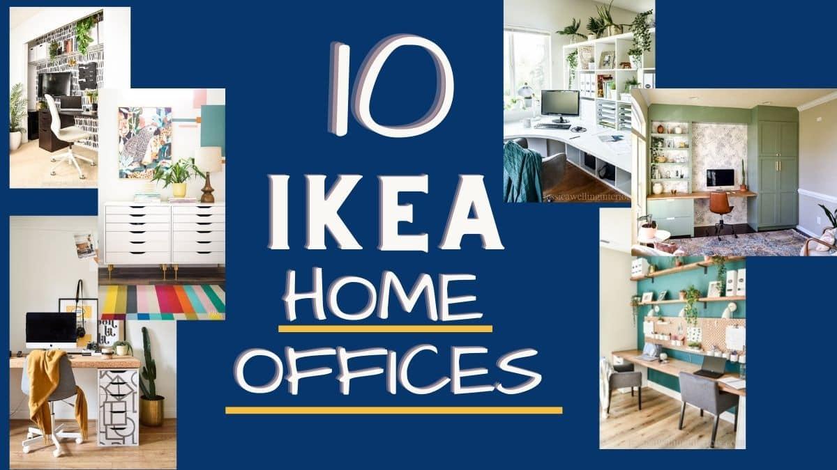 10 Ikea Office Ideas