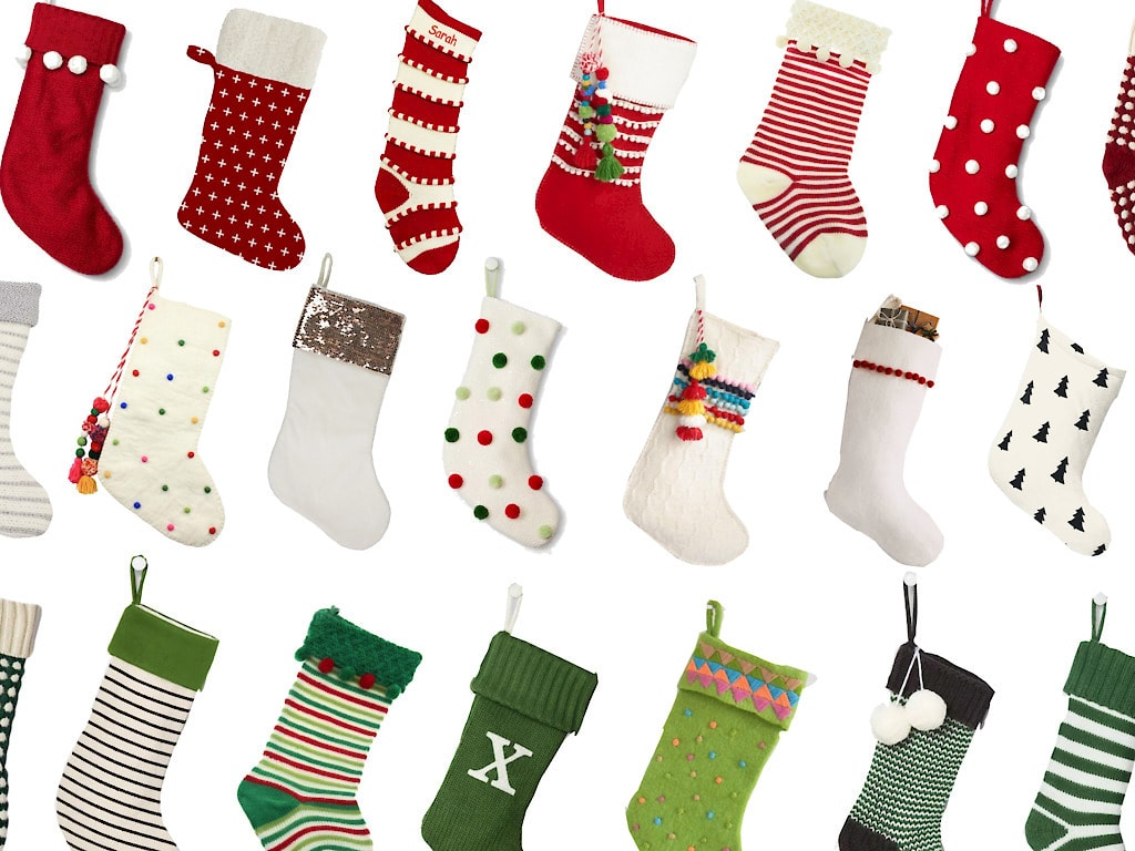 50 Fun Modern Boho Christmas Stockings for 2021!