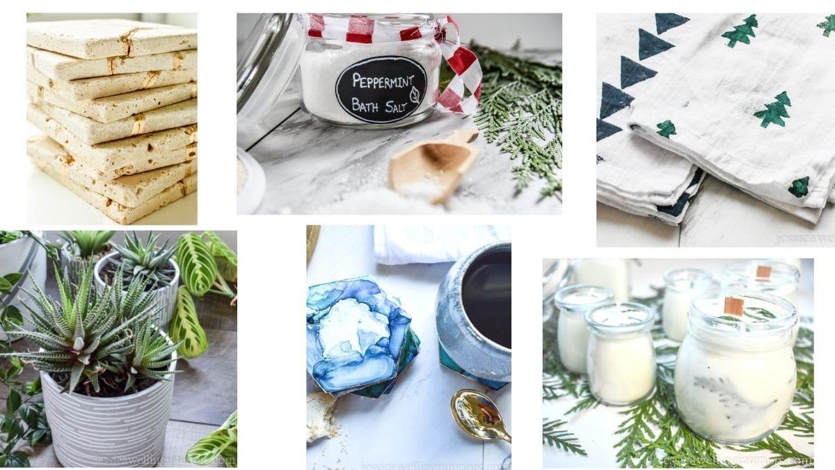 8 Easy DIY Christmas Gifts!