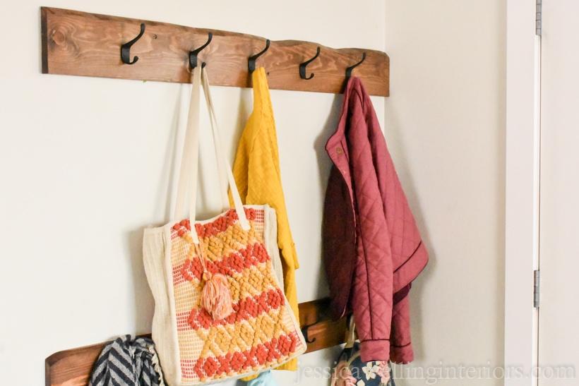 Easy DIY Coat Rack