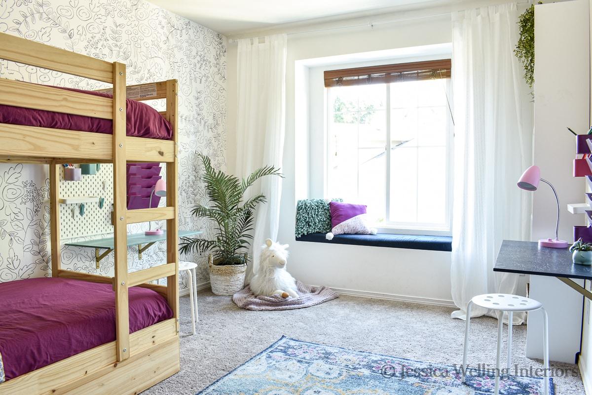 Girls' Room Ideas: Boho Bedroom Reveal